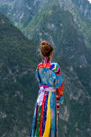 Tibet Woman photo