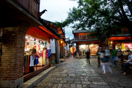 The Old Town of Lijiang,Yunnan province,China