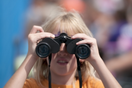 punting: I see it - Stock Image Stock Photo