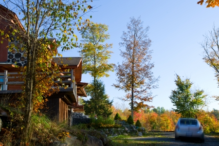 muskoka: A spectacular cottage in Algonquin Provincial Park, Ontario  Editorial