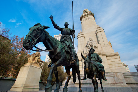 don quijote: Don Quijote y Sancho Panza Editorial