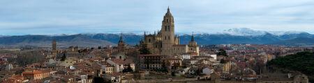 segovia: View of Segovia