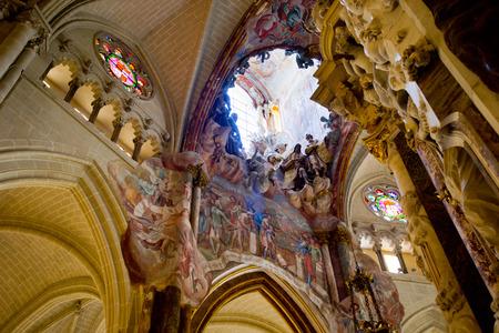 El Transparente in Toledo Cathedral, Spain