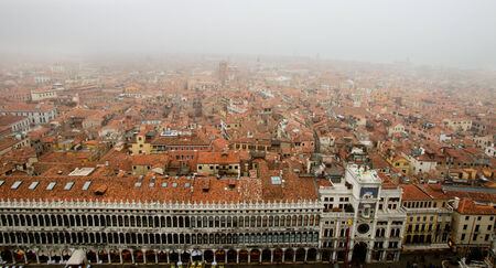 Fog in Venice, Italy photo