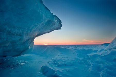 Jokulsalon Glacial lagoon 版權商用圖片
