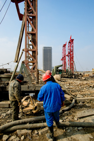 Building site Reklamní fotografie - 26971615