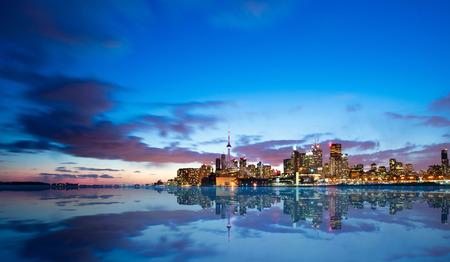 building cn tower: Toronto Skyline Stock Photo