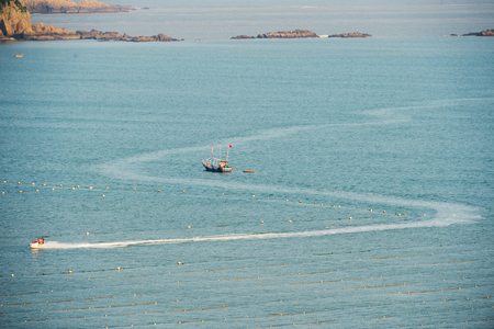 Boating on the islands. Activities in resort