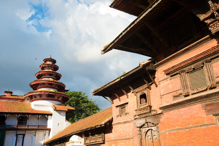 Old Royal Palace, Durbar Square in Kathmandu, Nepal