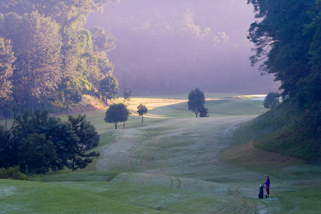 caddie: caddie on Nepal golf