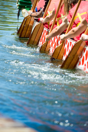 Dragon boat Stock fotó