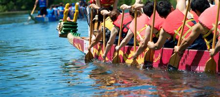Dragon boat Banco de Imagens