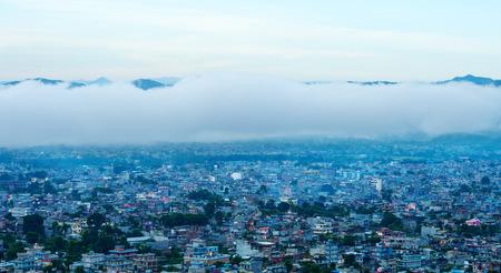 mundo contaminado: La ciudad de Katmand�