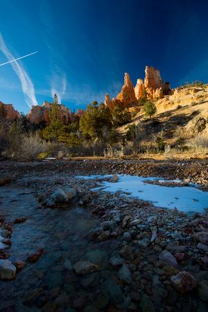Bryce Winter Sunrise Reklamní fotografie