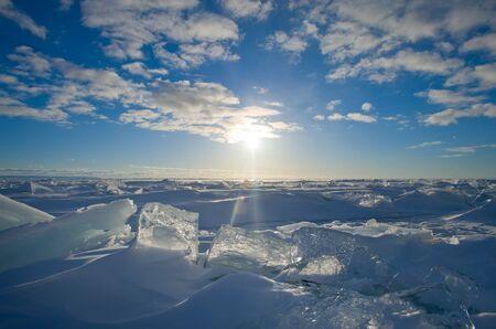 ice and sun Stock fotó