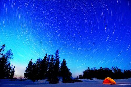 Night sky. photo