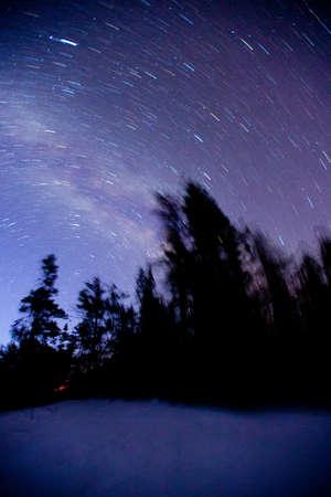 murk: Night sky Stock Photo