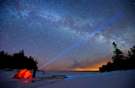 Milky Way and bruce peninsula