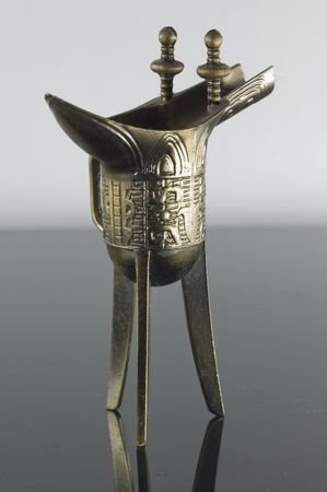 This the replica of  ancient china wine cup that used in the ancient dynasty period
