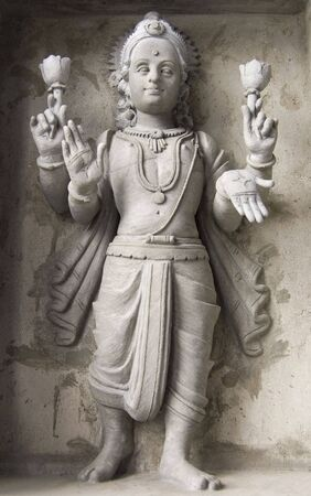 indian god: A statue of an Indian God