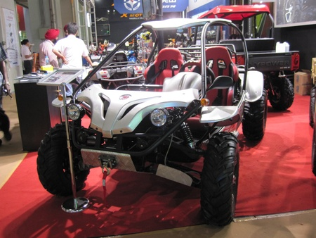 Guangzhou, China - October 18, 2010  : Canto Fair China Import and Export Fair 2010, exhibition and show for Buggy