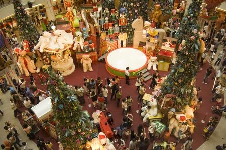 Kuala Lumpur, Malaisie, 26 d�cembre 2010 - No�l saison des achats au milieu vall�e Mega Mall Kuala Lumpur