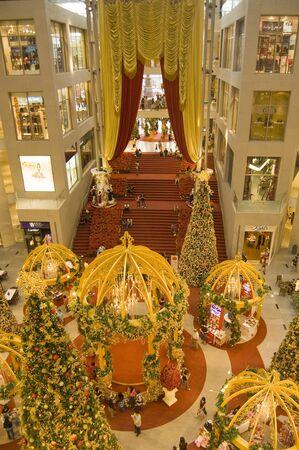 Malaisie Kuala Lumpur pavillon du centre commercial, le 25 d�cembre 2010 : la d�coration No�l au Centre du centre commercial de 2010