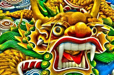fortunate: The Dragon Sculpture