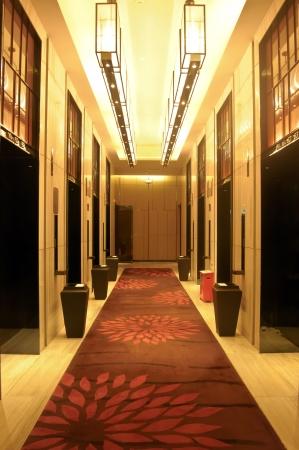 comtemporary: Dongguan, China, June 19 - the interior of the Dongguan Sofitel Hotel