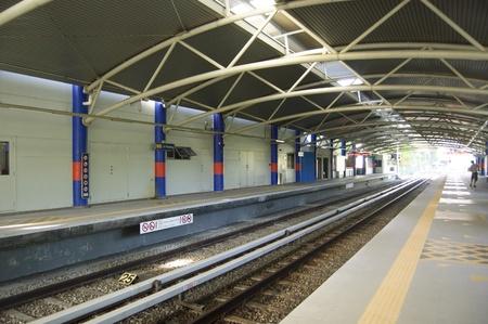 Kuala Lumpur, Malaysia, December 3, 2012 - The Commuter Train Station at Kuala Lumpur