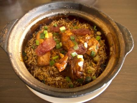 Clay pot riz au poulet