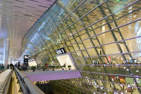 Shenzhen, China, December 18, 2013 -  the new China Shenzhen airport Editorial