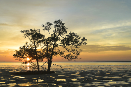 Tropica Sunset at the Cape Stock Photo