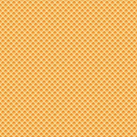 シームレス テクスチャ オレンジ品質バック グラウンド パターンのワッフル