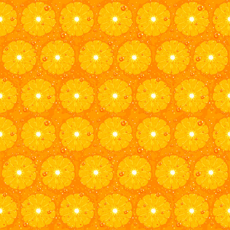 Orange Fruit Seamless Pattern Texture