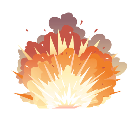 Bomb Explosion on Ground