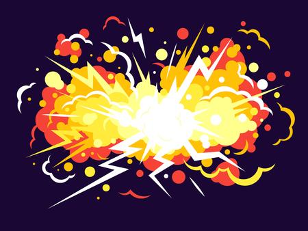 Cartoon bomb Background