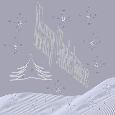 Winter background happy New Year