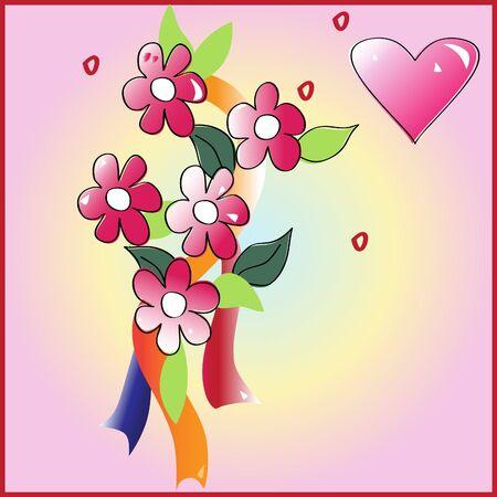 Cards of Love Illustration