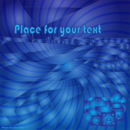 abstract stained glass background with your text