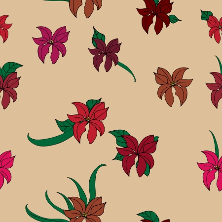 flower seamless background template