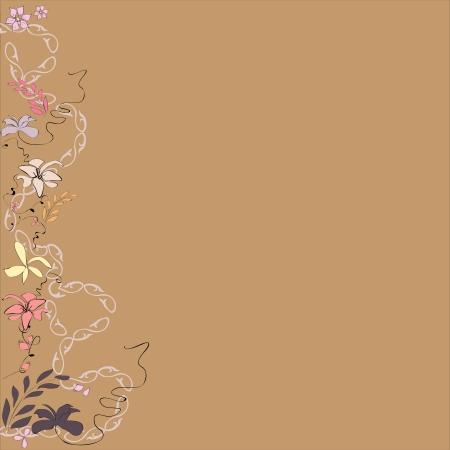 floral design for Wallpaper