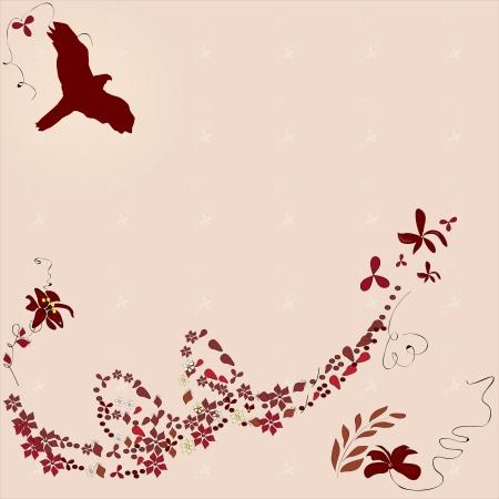 floral wallpaper Illustration