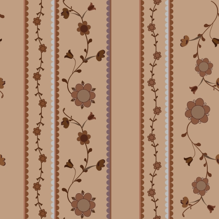 Stylish Pattern Background texture  Floral seamless wallpaper