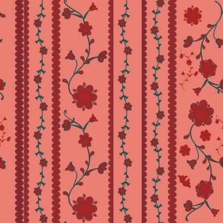 Stylish  cheerful Pattern Background texture   Floral seamless wallpaper