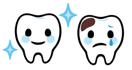 molares: Dibujos animados dientes Cuidado Dental