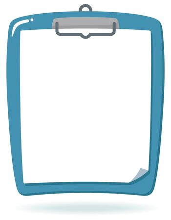 White paper and Clipboard