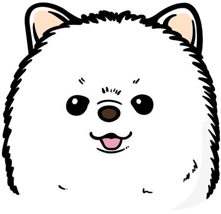 Pomeranian (dog) Illustration