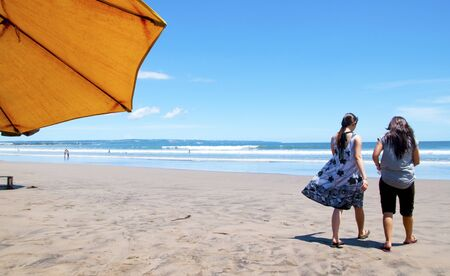 seminyak: Seminyak beach of Bali, Indonesia