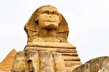Die Sphinx von ägyptischen Pyramiden Standard-Bild - 7883420